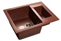 Мойка для кухни GranFest QUADRO Q-610 K  (Q-610 K  красный марс) 610x500