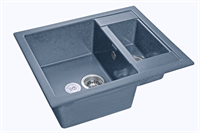 Мойка для кухни GranFest QUADRO Q-610 K  (Q-610 K  графит) 610x500