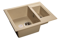 Мойка для кухни GranFest QUADRO Q-610 K  (Q-610 K  бежевый) 610x500