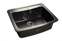 Мойка для кухни GranFest STANDRT S-605  (S-605  черный) 605x515