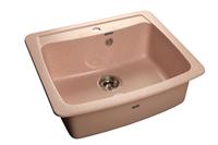 Мойка для кухни GranFest STANDRT S-605  (S-605  светло-розовый) 605x515