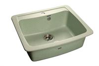 Мойка для кухни GranFest STANDRT S-605  (S-605  салатовый) 605x515