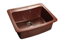 Мойка для кухни GranFest STANDRT S-605  (S-605  красный марс) 605x515