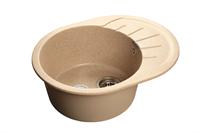 Мойка для кухни GranFest RONDO R-580 L  (R-580 L  песок) 579x445