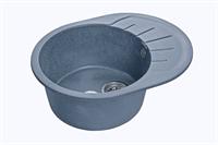 Мойка для кухни GranFest RONDO R-580 L  (R-580 L  графит) 579x445