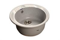Мойка для кухни GranFest RONDO R-520  (R-520  серый) 520x520