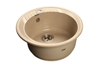 Мойка для кухни GranFest RONDO R-520  (R-520  песок) 520x520