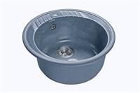 Мойка для кухни GranFest RONDO R-520  (R-520  графит) 520x520