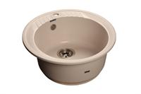 Мойка для кухни GranFest RONDO R-520  (R-520  белый) 520x520