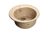 Мойка для кухни GranFest RONDO R-510  (R-510  песок) 508x505