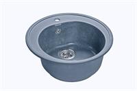 Мойка для кухни GranFest RONDO R-510  (R-510  графит) 508x505