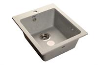 Мойка для кухни GranFest PRAKTIK P-505  (P-505  серый) 427x505