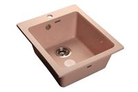 Мойка для кухни GranFest PRAKTIK P-505  (P-505  светло-розовый) 427x505