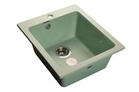 Мойка для кухни GranFest PRAKTIK P-505  (P-505  салатовый) 427x505