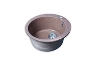Мойка для кухни GranFest RONDO R-480  (R-480  терракот) 475x475