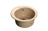 Мойка для кухни GranFest RONDO R-450  (R-450  песок) 443x443
