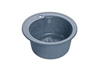 Мойка для кухни GranFest RONDO R-450  (R-450  графит) 443x443