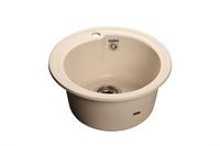 Мойка для кухни GranFest RONDO R-450  (R-450  белый) 443x443