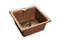 Мойка для кухни GranFest PRACTIK P-420  (P-420  терракот) 417x417