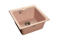 Мойка для кухни GranFest PRACTIK P-420  (P-420  светло-розовый) 417x417