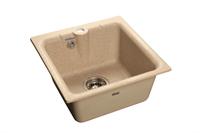 Мойка для кухни GranFest PRACTIK P-420  (P-420  песок) 417x417