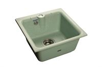 Мойка для кухни GranFest PRACTIK P-420  (P-420  салатовый) 417x417