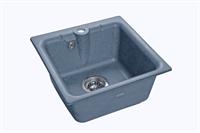 Мойка для кухни GranFest PRACTIK P-420  (P-420  графит) 417x417