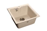 Мойка для кухни GranFest PRACTIK P-420  (P-420  белый) 417x417