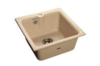 Мойка для кухни GranFest PRACTIK P-420  (P-420  бежевый) 417x417