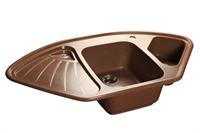 Мойка для кухни GranFest CORNER C-1040 E  (C-1040 E  терракот) 1039x560
