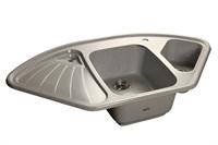 Мойка для кухни GranFest CORNER C-1040 E  (C-1040 E  серый) 1039x560