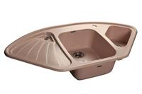 Мойка для кухни GranFest CORNER C-1040 E  (C-1040 E  светло-розовый) 1039x560