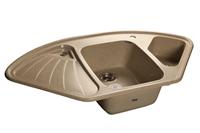 Мойка для кухни GranFest CORNER C-1040 E  (C-1040 E  песок) 1039x560