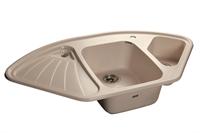 Мойка для кухни GranFest CORNER C-1040 E  (C-1040 E  белый) 1039x560