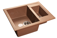 Мойка для кухни GranFest QUADRO Q-610 K  (Q-610 K  терракот) 610x500
