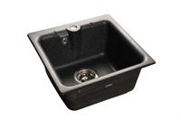 Мойка для кухни GranFest PRACTIK P-420  (P-420  черный) 417x417