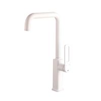 Смеситель для кухни белый матовый IDDIS Slide (SLIWT00i05)