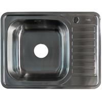 Мойка IDDIS Basic нержавеющая сталь сатин чаша слева 650*500 (BAS65SLi77)