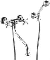 Смеситель для ванны с длинным изливом IDDIS Nobelle (NOBSBL0i10)