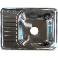 Мойка IDDIS Basic нержавеющая сталь полированная чаша справа 650*500 (BAS65PRi77)