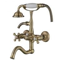 Смеситель для ванны Kaiser Carlson Style 44422-1 Бронза