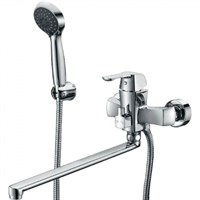 Смеситель для ванны Kaiser Boss 51055B универсальный Хром