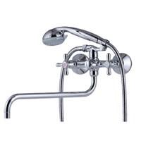 Смеситель для ванны Kaiser Carlson 11055 универсальный Хром