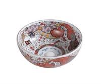 Раковина-чаша Bronze de Luxe красная (2231)