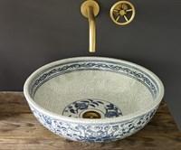 Раковина-чаша Bronze de Luxe синяя (2241)