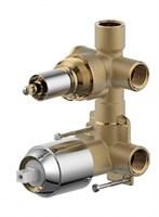 Скрытая часть встраиваемого смесителя (2-функц) Bravat (D982CP-A-RUS)
