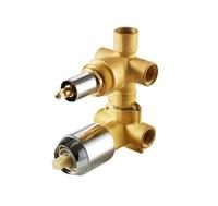 Скрытая часть встраиваемого смесителя (3-функц) Bravat (D969C-A-RUS)