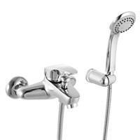 Смеситель для ванны IDDIS Creative шланг лейка держатель (D23101CK)