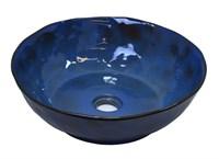 Раковина-чаша на столешницу Bronze de Luxe, сине-коричневый  (2000)