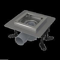 Сливной трап AlcaPlast APV130 из нержавеющей стали 130x130 мм (APV130)
